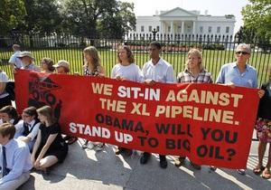 В Вашингтоне задержали протестующих против строительства нефтепровода