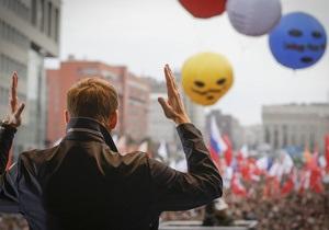 Навальный лидирует на выборах в совет российской оппозиции