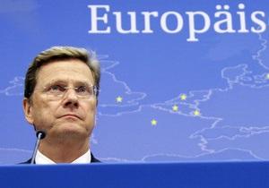 Глава МИД Германии: Тимошенко имеет право на честное правосудие и на надлежащее лечение