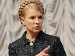 Тимошенко ждет от Черновецкого отчета о ситуации вокруг здания Гидрометцентра