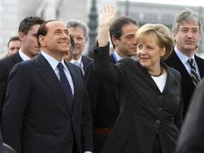 Сильвио Берлускони напугал Ангелу Меркель