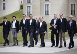 G8 - Сирия - Лидеры Большой восьмерки не договорились о судьбе Сирии