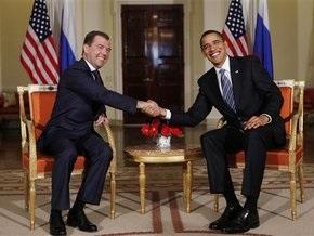 Фотогалерея: Обама и Медведев. Первое свидание