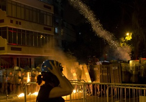 В Рио-де-Жанейро водометами и слезоточивым газом разогнали протестующих против визита Папы