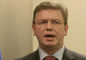 Еврокомиссар: ЕС ждет от Киева действий, а не объяснений