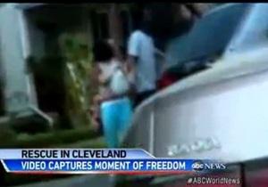 Случайные свидетели сняли на видео момент освобождения пленниц кливлендского маньяка