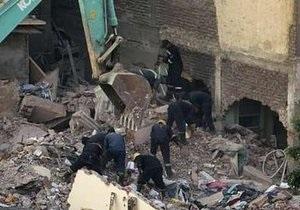 В Каире обрушился жилой дом: шесть человек погибли