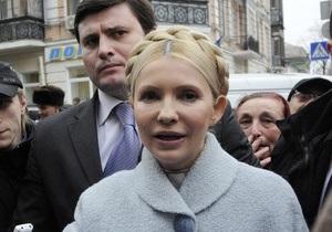 Тимошенко: Адвокат уже ознакомился со значительной частью дела