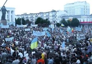 На митинг по случаю годовщины депортации крымских татар собрались около 20 тысяч человек