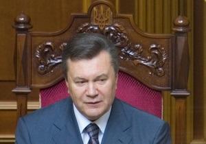 Янукович выступил в Раде: Шаги, которые мы будем делать, будут судьбоносными