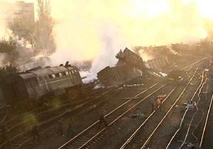 Спасатели завершили работы на месте крушения поезда с химикатами в Ростовской области