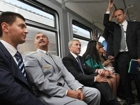 В Киеве запустили первую городскую электричку