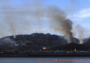 КНДР открыла артиллерийский огонь возле южнокорейского острова Енпхендо