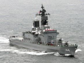 В Тихом океане столкнулись два эсминца ВМС Японии