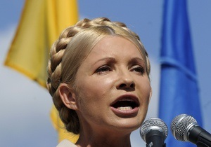 Тимошенко подвергла острой критике других лидеров оппозиции