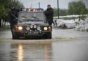 Жертвами наводнения в Словакии стали четыре человека