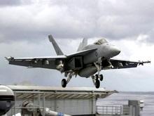Российский бомбардировщик вновь приблизился к авианосцу США