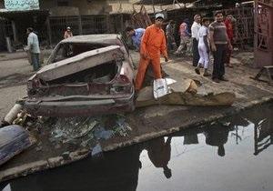 При взрыве в Багдаде восемь человек погибли, 20 получили ранения