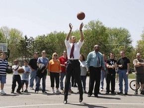 Обама сыграет в баскетбол с министрами и конгрессменами