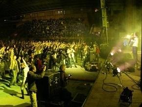 Группа ТІК дала антикризисный концерт в Киеве