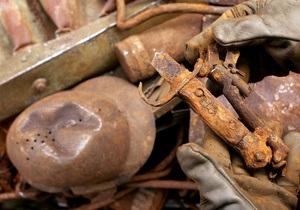В Чехии обнаружили три тонны снарядов времен Второй мировой