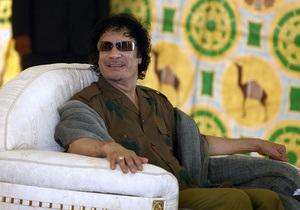 Каддафи заявил, что готов простить Запад, если тот извинится
