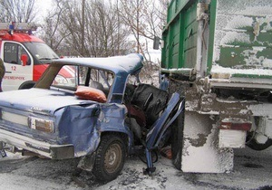 Вчера на дорогах Украины произошло свыше 700 ДТП