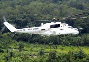 Украинские вертолетчики усилят патрулирование Либерии