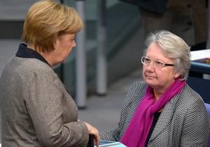 Новости Германии - скандал в правительстве - соратницу Меркель Шаван лишили ученой степени