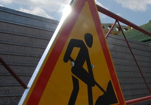 В Киеве реконструируют улицу Васильковскую