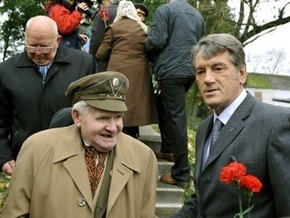 Ющенко пообещал воспитывать украинцев на примере воинов УПА
