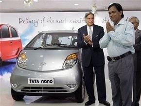 Самые дешевые автомобили в мире Tata Nano поступили в продажу