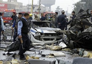 Число жертв серии терактов в Багдаде превысило 100 человек