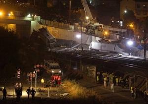 В Испании объявлен недельный траур по жертвам крушения поезда