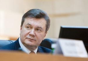 Янукович: Украина не может решать в суде вопрос газовых контрактов с Россией