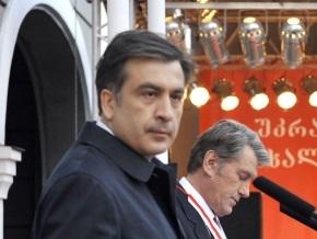Ъ: Саакашвили засиделся в ночном клубе и проспал встречу с Ющенко