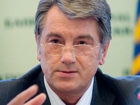Ющенко заверил, что законопроекты о выборах и референдуме созданы  под две политсилы