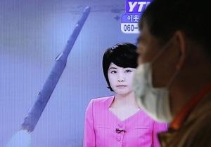 Пхеньян назвал запуск баллистической ракеты научным прорывом