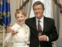 Украинцы считают, что Тимошенко работает лучше Ющенко