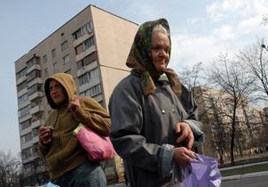 В Киеве на Позняках начал работать пункт по сбору помощи малообеспеченным