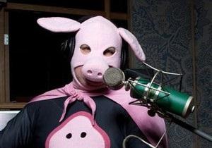 Человек-Свинья намерен выступить на Евровидении-2010