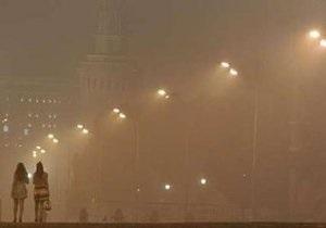 Загрязнение воздуха в Москве достигло пиковых значений