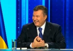 Телемост Януковича:  вся страна в едином порыве  - ВВС Україна