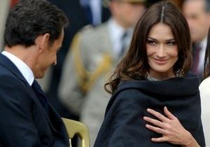 Финансовая полиция обыскала офис партнеров Саркози и дом Карлы Бруни