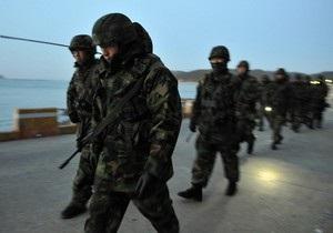 Случайный выстрел из артиллерийского орудия произошел на границе двух Корей