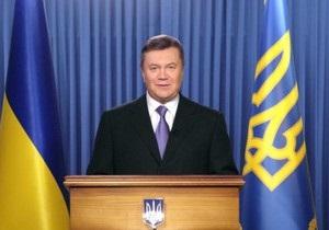 В преддверии выборов Янукович обратился к украинцам