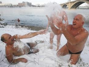 Фотогалерея: Русские моржуют