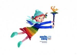 Тольяттинский талисман «Радужка» XXII Олимпийских зимних игр «Сочи 2014» находится на втором месте в рейтинге!