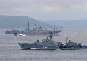 Учения ЧФ РФ - Учения ВМФ России - Черное море - российский флот