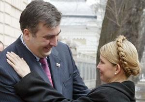 В СНБО обнародовали запись телефонного разговора Тимошенко и Саакашвили